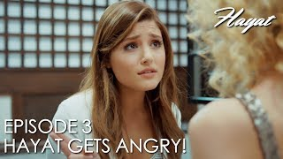 Hayat gets angry with Didem | Hayat Episode 3 (Hindi Dubbed)