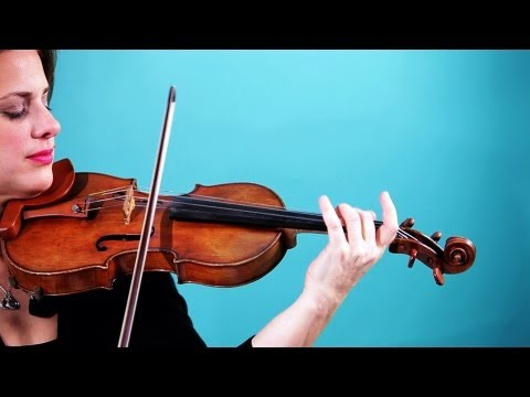 How to Play a D String | Violin Lessons