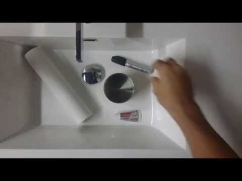 Sharpie Vs. Sink