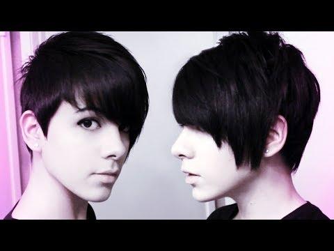 How to cut own hair (Pixie Cut) ☮ ♡