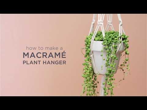 Macrame Hanger Tutorial