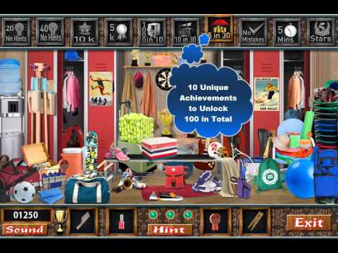 The Locker Room- Free Find Hidden Objects Games
