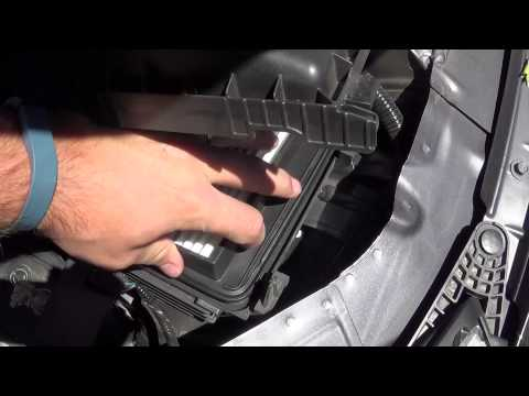 How to Change the Air Filter 2013 + Honda Accord 4 Cylinder