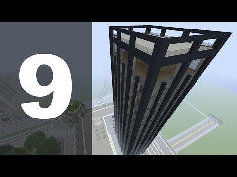 Minecraft Let's Build : 70's Style Skyscraper - Part 9