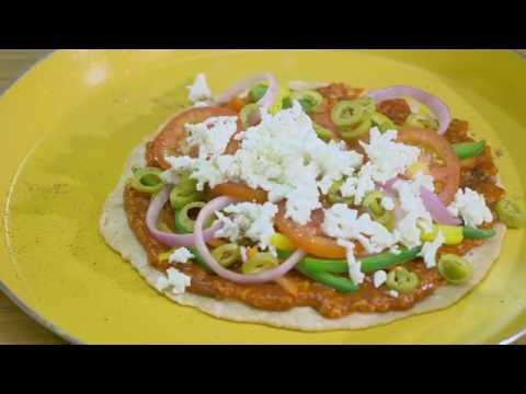 Saffola Peppy Tomato Oats Tava Pizza
