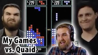 Analyzing My Games vs. Quaid in the Classic Tetris West Coast Qualifier 2019!