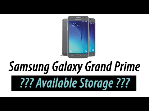 How Much Storage Does the Galaxy Grand Prime Really Have