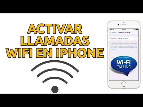 Llamadas wifi calling con iPhone 6, 6s, SE, 5s, 5c llamadas Wi-fi en iOS