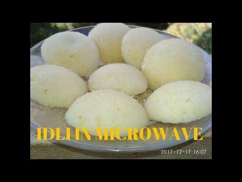 IDLI IN MICROWAVE OVEN IFB - ifb microwave oven demo in hindi idli making