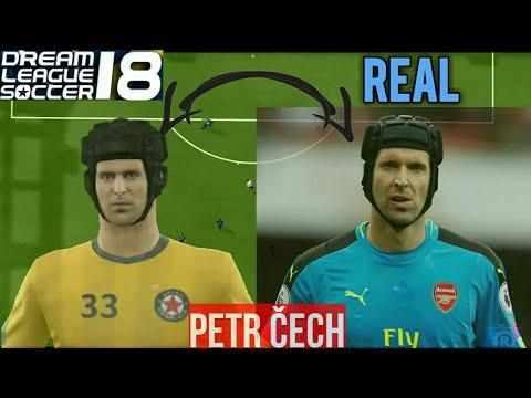 Face Comparison Dream League Soccer 18: Realistic player Faces