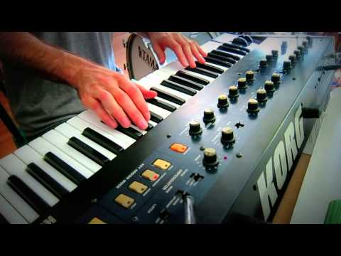 Korg Polysix - Demo of