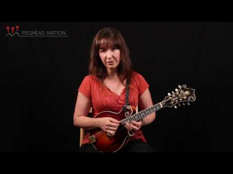 Two-String Pick Technique Lesson, from Intermediate Bluegrass Mandolin with Sharon Gilchrist