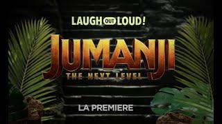 Jumanji The Next Level LA Premiere LOL Interview Laugh Out Loud Network