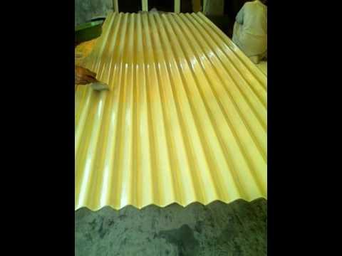 Fiberglass corrugated sheet