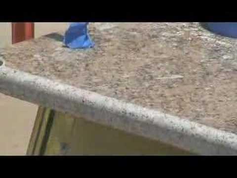 How To Profile & Polish Granite Countertop DIY