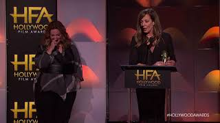Allison Janney Acceptance Speech for Hollywood Supporting Actress - HFA 2017