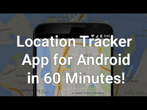 Create a GPS Location Tracker app in Android - Tutorial with Example