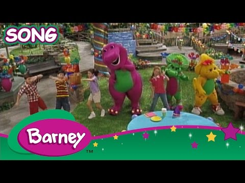 Barney - The Green Grass Grows All Around (SONG)