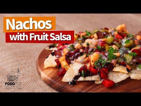 Nachos with Fruit Salsa | Nachos with Salsa