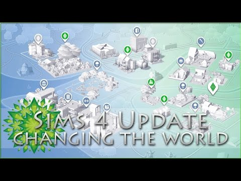 Sims 4 Greene Legacy Update!! Changing The World & Collecting Ideas