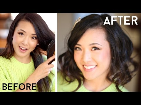 How To Fake Short Hair (Faux Bob)