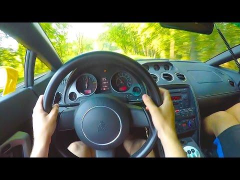 Muffler Delete Lamborghini Gallardo Insane Exhaust POV Drive