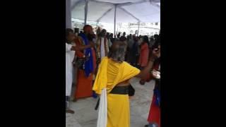 Dargah hazrat bu Ali Shah kalander ke darbar me dammal baba logo ka