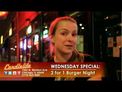 Candlelite Chicago sports bar and restaurant specials in Rogers Park near Evanston