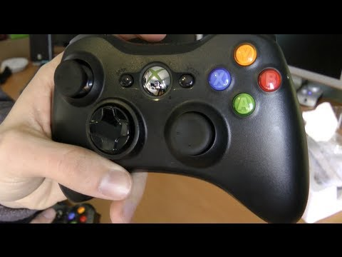Unboxing: Xbox 360 Wireless Controller (Xbox LIVE Giveaway)