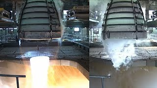 SLS RS-25 Engine Test, 21 February 2018