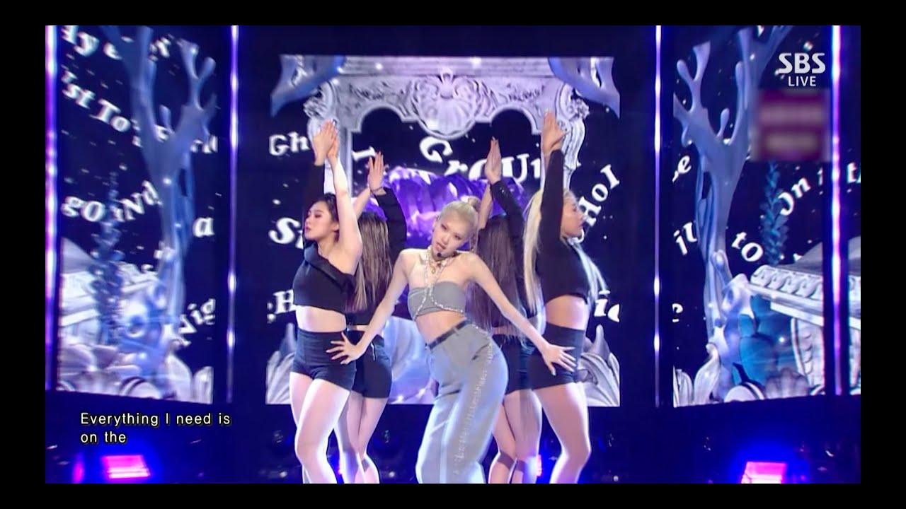 ROSÉ - 'On The Ground' 0321 SBS Inkigayo