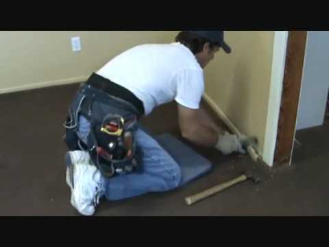 How to remove old baseboard