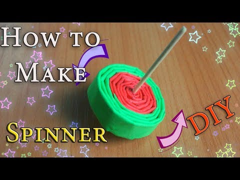 How to Make an Easy Paper TOY Which Spinning Long Time. Fun Spinning Top Crafts For Kids