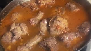 رقبة الديك الرومي بطريقة الاوسو بوكو ولايمكن نفرق عن اللحم/turkey necks Osso bocco/للشيف ايمن حسن.