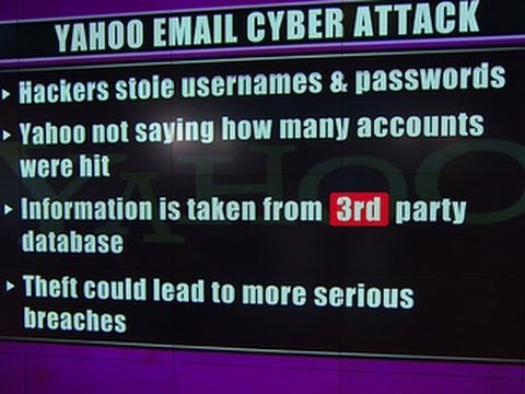 Yahoo customers' passwords and emails stolen