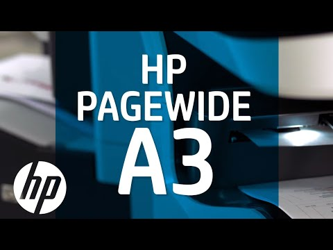 HP PageWide A3 Printers - Fast, efficient, affordable color