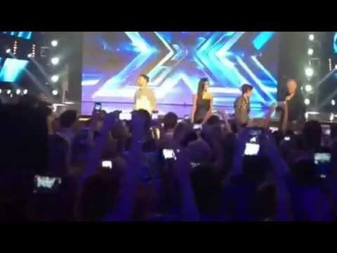 Xfactor judges 2013 Wembley Arena