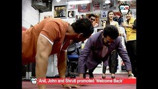 Anil Kapoor beats John Abraham in push ups during