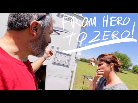 Van Life; From Hero To Zero! The Lance Camper Solar Project! Part 16