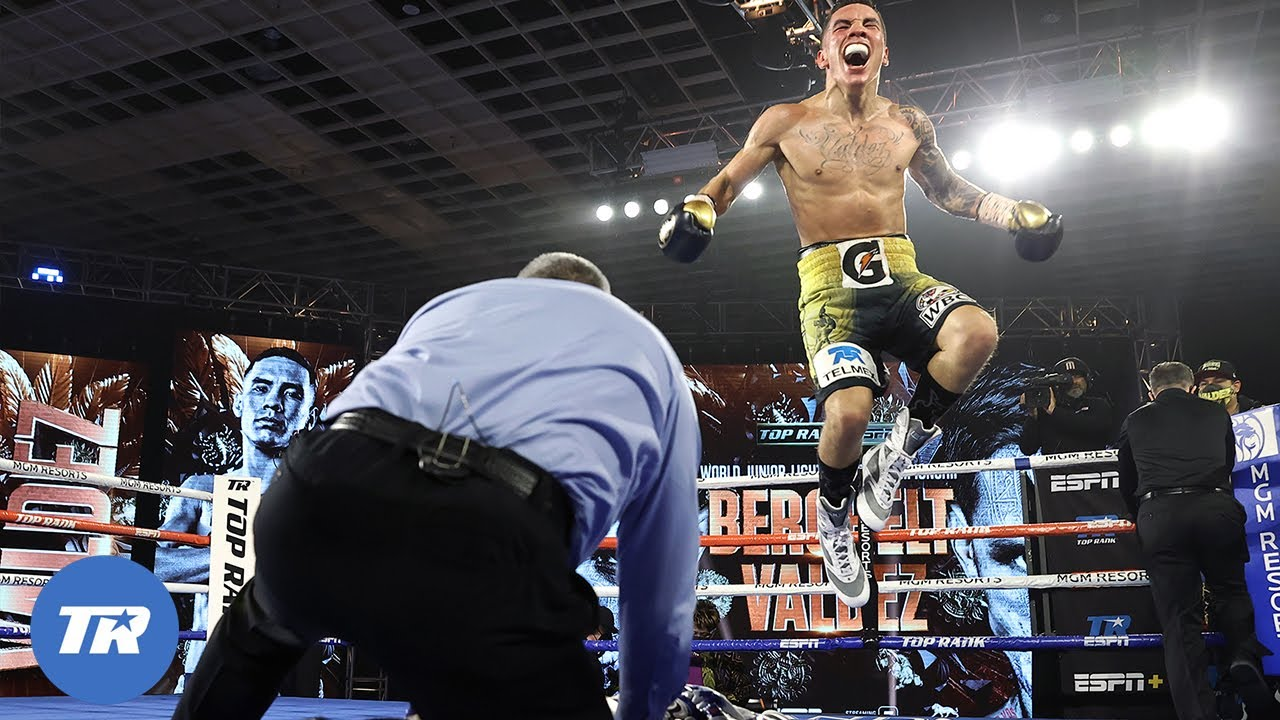 Oscar Valdez with the Knockout of the Year Over Miguel Berchelt, Wins Belt