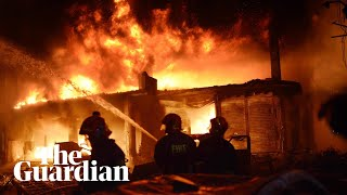 Scores killed in building fire in Bangladeshi capital