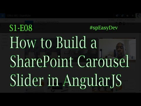 S1E08: How to Build a SharePoint Carousel Slider with AngularJS and Owl Carousel Plugin