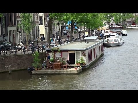 Canal Ring Amsterdam: Houseboats Part 1