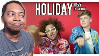 HRVY - Holiday ft. Redfoo (Music Video) REACTION