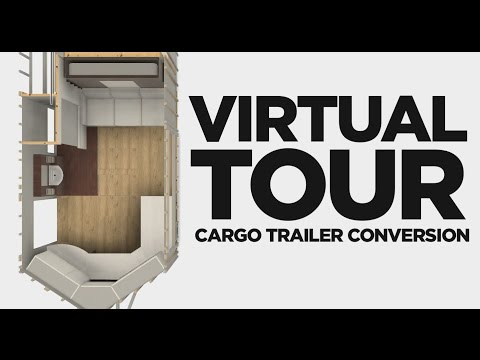 Cargo Trailer Camper Conversion | Pre-Build Virtual Tour