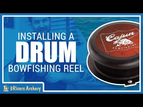 Setting up a Drum Bowfishing Reel with 3Rivers Archery