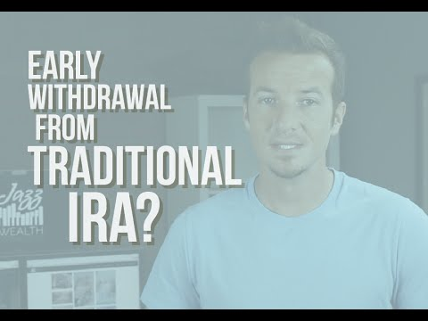 Taking an early withdrawal from your IRA? | Jazz Wealth Managers