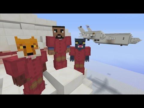 Minecraft Xbox - Airplanes - 3v3 Team SkyWars