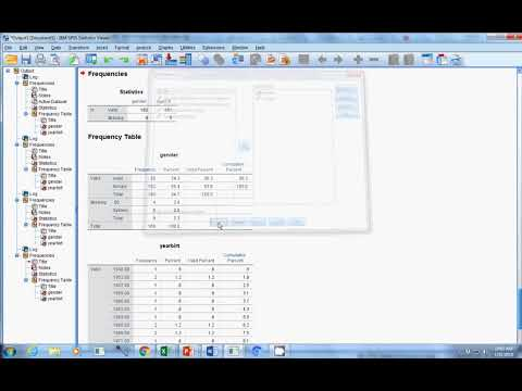 finding missing data in SPSS