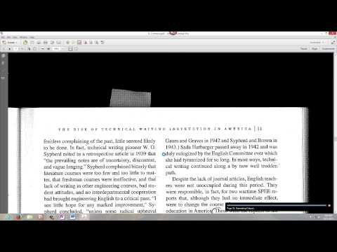 Adobe Acrobat XI OCR Converts Image PDF to Searchable True Text PDF
